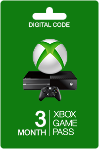 Xbox Game Pass 3 måneders (Renewal)