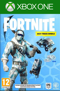 Fortnite Deep Freeze Bundle DLC Xbox One