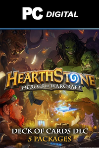 Hearthstone Heroes of Warcraft - Deck of Card DLC PC