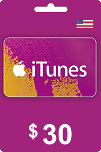 iTunes Gift Card 30 USD