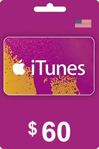 iTunes Gift Card 60 USD