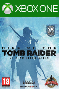 Rise of the Tomb Raider 20 Years Celebration Xbox One