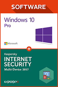 Windows 10 Pro OEM + Kaspersky 2017 1 PC 1 year