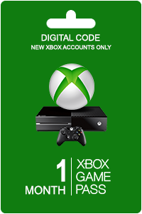 Xbox Game Pass 1 måned (New Accounts)
