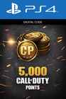 5000 Call of Duty Points
