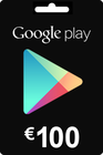 Google Play Gift Card 100 EURO