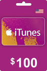 iTunes Gift Card 100 USD