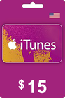 iTunes Gift Card 15 USD