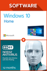 Windows 10 Home + ESET NOD32 Antivirus 12 months